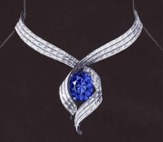 Harry Winston Jewelry Brought to you by... www.myfauxdiamond.com  Harry: The New Harry Winston Hope Diamond Design | Fine ...