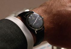 as seen on Don Draper's wrist, Mad Men, season 5. Omega Seamaster Deville.