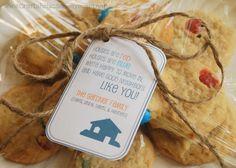 meet your neighbor gift idea + free printable