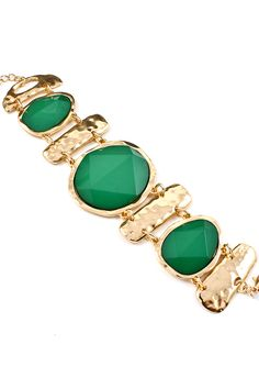 Paris Green Kate Bracelet | Awesome Selection of Chic Fashion Jewelry | Emma Stine Limited