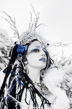 Aepril Schaile as The Snow Queen  by Liza Piper