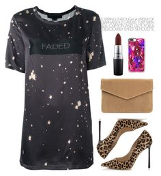 """""""The rebel in me will never die"""" by chase-stars ❤ liked on Polyvore featuring Alexander Wang, Jimmy Choo, Casetify and MAC Cosmetics"""