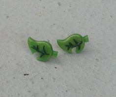Animal Crossing New Leaf Earrings, I would get these but I don't have my ears pierced yet x3