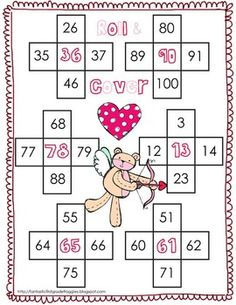 Valentine's Day- Math Centers Common Core Pack