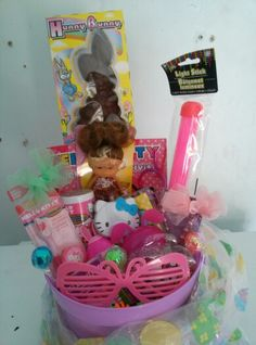Hello kitty Easter basket  #CraftyHands