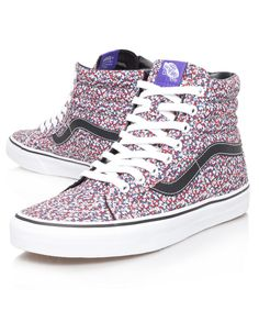 c41669c862 Vans Women s Pepper Liberty Print Sk8-Hi Reissue Trainers