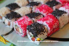 Урамаки с икрой и перцем - рецепт, фото, как приготовить вкусно, быстро и просто | eat.by
