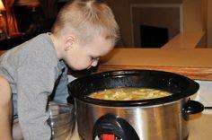 freezable crock pot chicken soup Slow Cooker Soup, Slow Cooker Recipes, Freezable Soups, Make Ahead Meals, Chicken Soup, Crock Pot, Frozen, Food, Chicken Soups