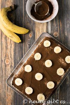 Bananentiramisù - eine kaffeefreie Variante