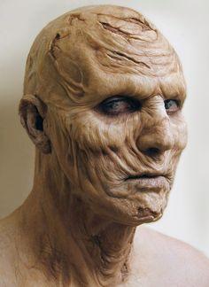The Future is Here: Printed Prosthetics Prosthetic Makeup, Sfx Makeup, Costume Makeup, Special Makeup, Special Effects Makeup, Creature Concept Art, Creature Design, Monster Makeup, Horror Makeup