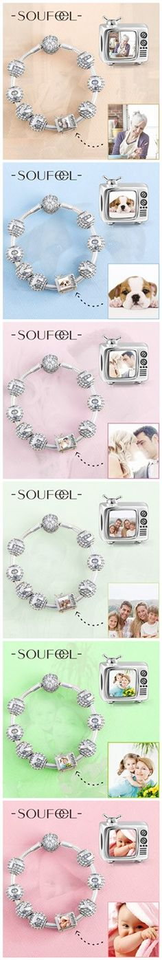 You Are the Most Precious Gift In My Life. Make This Moment Forever . Choose Soufeel, for every memorable day! Personalized Charms, 60% OFF. Make a charm of your favorite Photo!