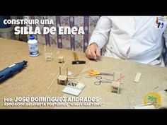 Cómo construir una Silla de Enea para tu Belén - YouTube