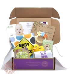 16 Minute Club Breastfeeding Subscription Box Review