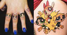 Sugar, Spice And Everything Nice: 14 Powerpuff Girls Tattoos