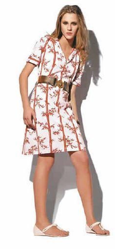 Vestido de viscoelastano - Baixe o molde para fazer a peça no tamanho 44 - Moda, Beleza, Estilo, Customizaçao e Receitas - Manequim - Editora Abril