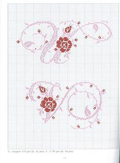 Gallery.ru / Фото #111 - belles lettres au point de croix - moimeme1