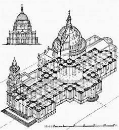 St Paul's Cathedral Plan