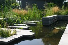 Garden pond idea @ Gardens of Appeltern The Netherlands