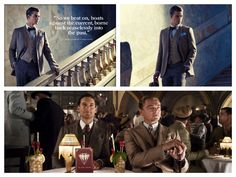The Great Gatsby Collection Wool and Linen Suit, Brooks Brothers : Ens. 1600 €