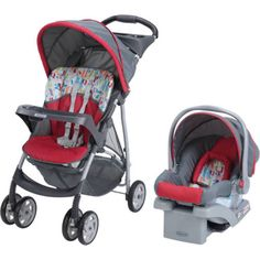 Infant-Travel-Stroller-Baby-Car-Booster-Seat-lightweight-LiteRide-System-Graco