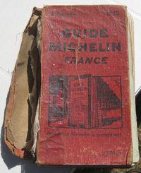 1929 Michelin guide to France / i l o v e old books