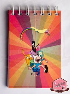 Libreta Adventure Time