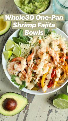 Paleo Recipes, Healthy Dinner Recipes, Eat Clean Recipes, Healthy Low Carb Meals, Healthy Lunches, Breakfast Recipes, Cena Keto, Fajita Bowls, Snacks Saludables