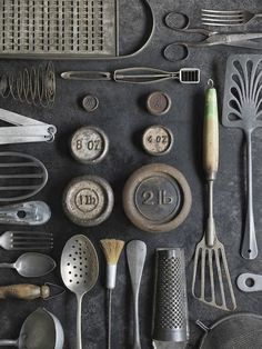 Kitchen Collection in Gray - bricolage