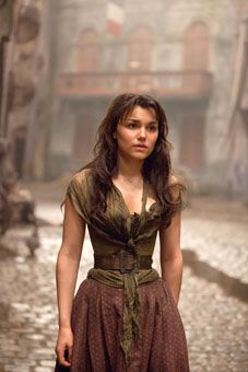 Samantha Banks in 'Les Miserables.' Barks has played Eponine previously on stage as well as the 2010 TV Concert of 'Les Miserables'. One of the only actual Broadway actors to be in the movie. Good Choice.