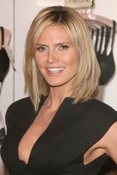 i love heidi klum shes so sweet and cute!