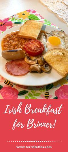 Enjoy this delicious breakfast for brinner!  #Brinner #IrishBreakfast