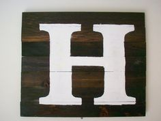 Turning a House into a Home {creating beauty on a budget}: Wood Plus Stain Equals Art Tutorial