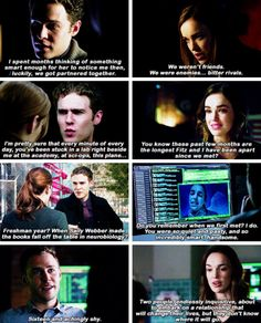 The Academy Days. Where they first met Marvel's Agents of S.H.I.E.L.D. FitzSimmons