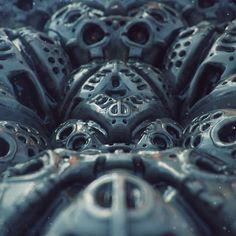 Mech Skull Pile   Mech   Pinterest