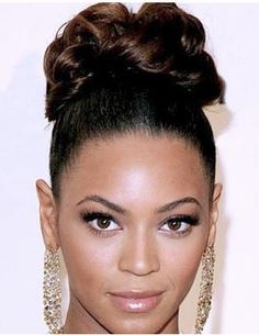 Fresh Updo Hairstyles for Black Women Wedding