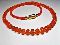 Feueropal Collier: Amazon.de: Handmade