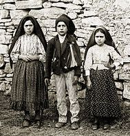Visionaries. Between 13 May and 13 October 1917, three children, Jacinta, Francisco and Lucia, Portuguese shepherds from Aljustrel, saw apparitions of Our Lady at Cova da Iria, near Fatima, a city 110 miles north of Lisbon.At that time, Europe was involved in an extremely bloody war. Portugal itself was in political turmoil, having overthrown its monarchy in 1910; the government disbanded religious organizations soon after.