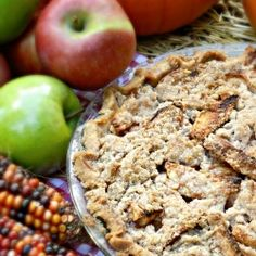 Easy Dutch Apple Pie by redheadcandecorate