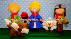 ARTE COM FELTRO: Personagens Pequeno Príncipe - The Little Prince