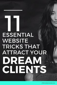 Your brand's website. From hosting to domain names to design to content, your website is a BIG DEAL. Especially if your business is 100% online, your website is often the first thing your clients will see of your brand. And that can be a MAKE or