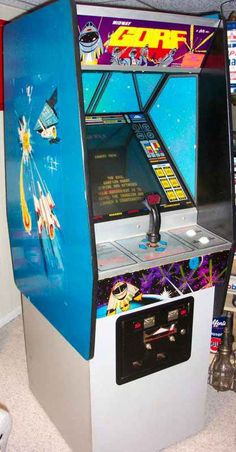 """Gorf is probably the greatest arcade game ever. Such a nice cabinet too. It was my first pistol grip joystick game. I played it first, somewhere in Columbus Ohio. I wouldn't have noticed it as a kid except fr the fact it spoke.  Heck taunted me with """"space cadet"""".. loved it"""