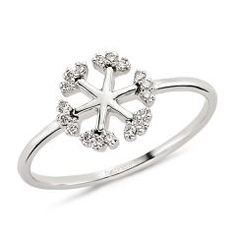 snowflake ring with diamonds http://goo.gl/UZd9C