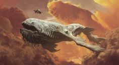 Image result for avengers flying whales