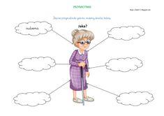 BLOG EDUKACYJNY DLA DZIECI: PRZYMIOTNIKI - KARTY PRACY Family Guy, Character, Blog, Speech Language Therapy, Therapy, Blogging, Lettering, Griffins