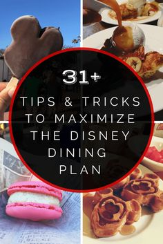 Disney Dining Plan Tips, Tricks, and Secrets You Need to Know
