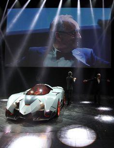 Lamborghini selfishly celebrates 50 years with Egoista concept