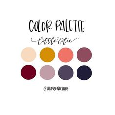 Color palette time! This one brings me to a place of rich cinnamon and flowers. It doesn't have to make sense. Just go with it. . . #thepigeonletters_colorpalettes #colorpalette #colorscheme #retrocolors
