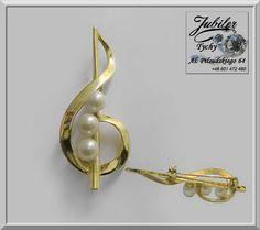 #Złota #Broszka z #perłami w #kształcie #klucza #wiolinowego #klucz #wiolinowy #Złote #broszki #perły #złoto #perła #zawieszka #Gold #pearl #Jubiler #Tychy #Jeweller #Tyski #Złotnik #Zaprasza #Promocje : ➡ jubilertychy.pl/promocje 💎