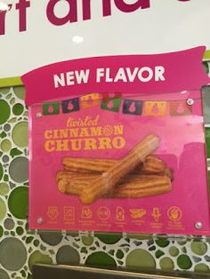 New flavor at Menchie's June 2015: Twisted Cinnamon Churro