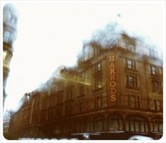 """Harrods- a shopping """"experience!"""""""